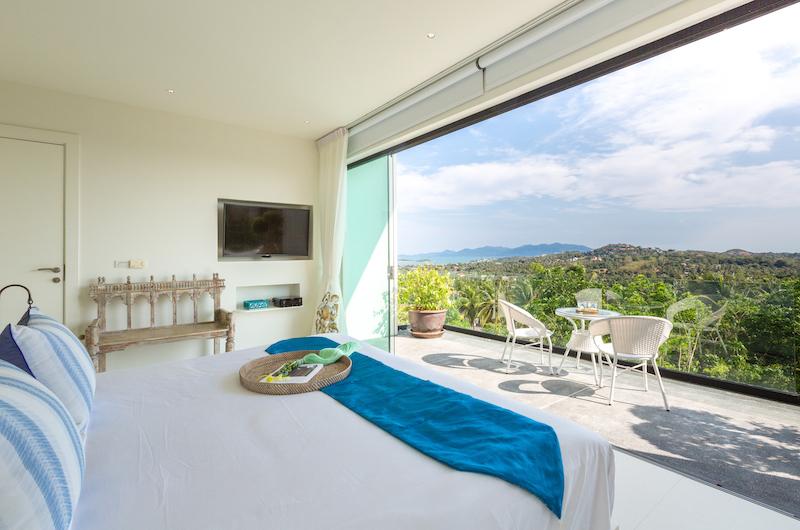 Villa Danisa Bedroom One Area | Choeng Mon, Koh Samui