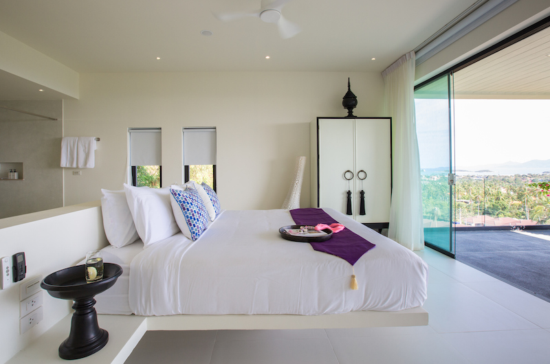 Villa Danisa Bedroom Side | Choeng Mon, Koh Samui