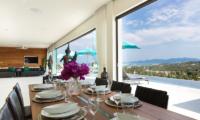 Villa Danisa Dining Area | Choeng Mon, Koh Samui