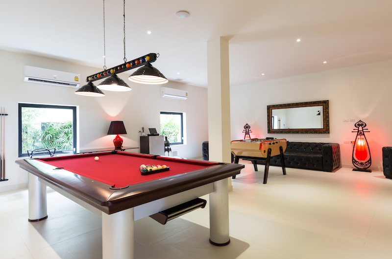 Villa Danisa Pool Table | Choeng Mon, Koh Samui