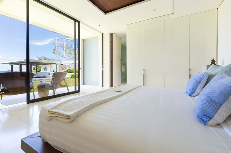 Villa Malabar Bedroom Two with Balcony | Laem Sor, Koh Samui