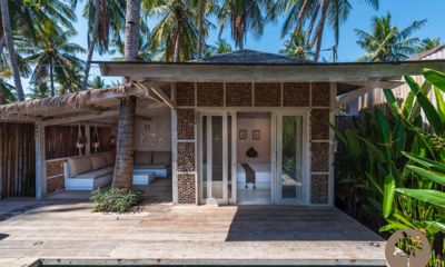 Edenia Villas Open Plan Bedroom Area | Gili Trawangan, Lombok