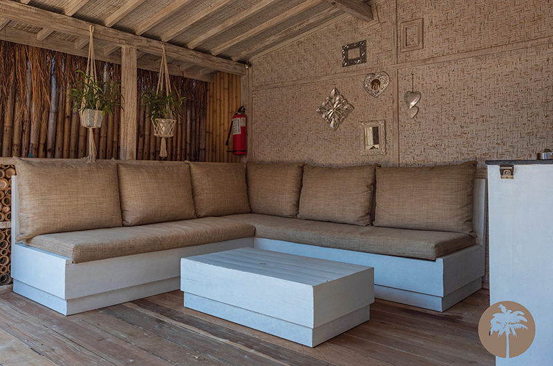 Edenia Villas Indoor Seating | Gili Trawangan, Lombok