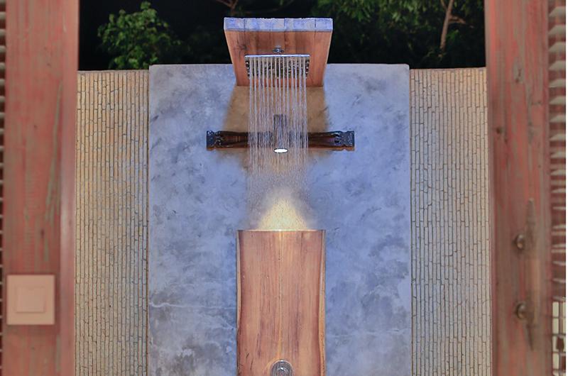 Samsara Villas Bathroom with Shower | Gili Air, Lombok