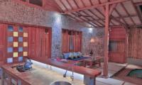 Samsara Villas Open Plan Living Room | Gili Air, Lombok