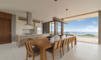 Selong Selo Villas Four Bedroom Villas Dining Table | Lombok, Indonesia