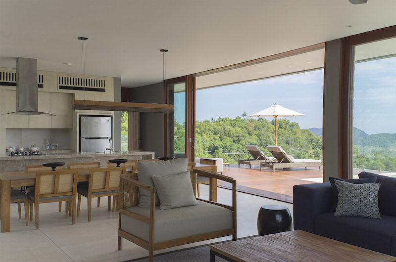 Selong Selo Villas Four Bedroom Villas Living Area | Lombok, Indonesia