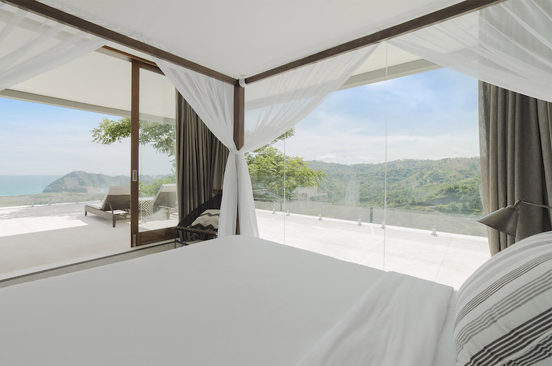 Selong Selo Villas Four Bedroom Villas Bedroom with Views | Lombok, Indonesia