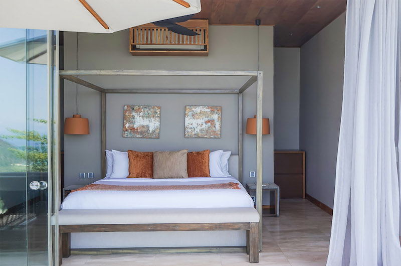 Selong Selo Villas Two Bedroom Villas Bedroom with Lamps | Lombok, Indonesia