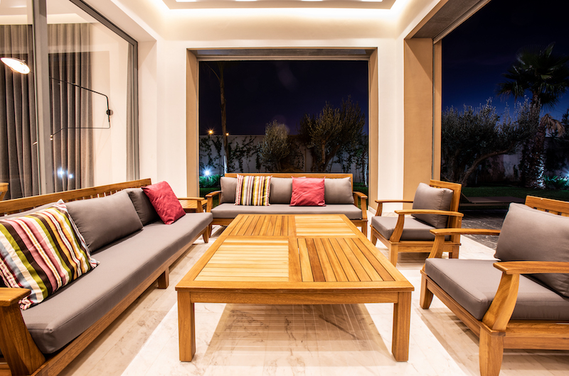 Villa Arteo Open Plan Seating | Marrakesh, Morocco