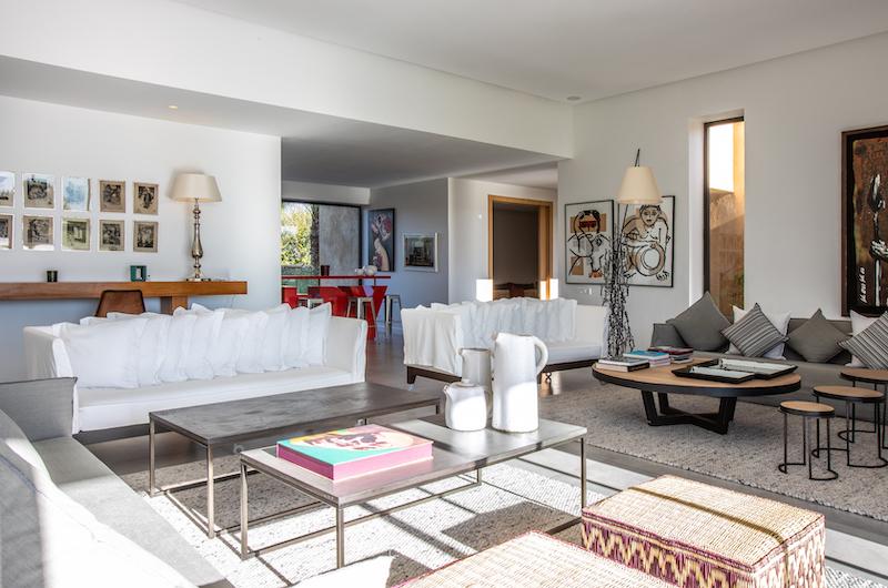 Villa Belya Indoor Seating   Marrakesh, Morocco