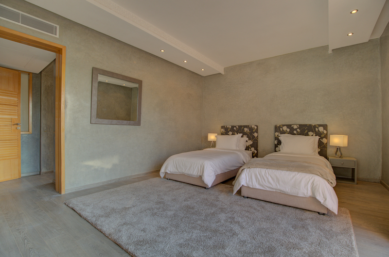 Villa Chamly 4 Twin Bedroom with Lamps | Marrakesh, Morocco