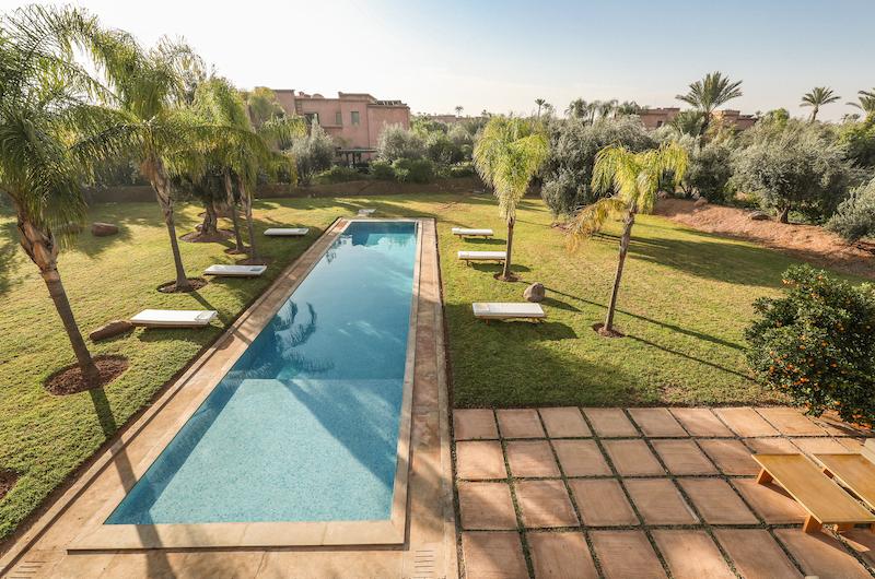 Villa Chamly 4 Pool Area | Marrakesh, Morocco