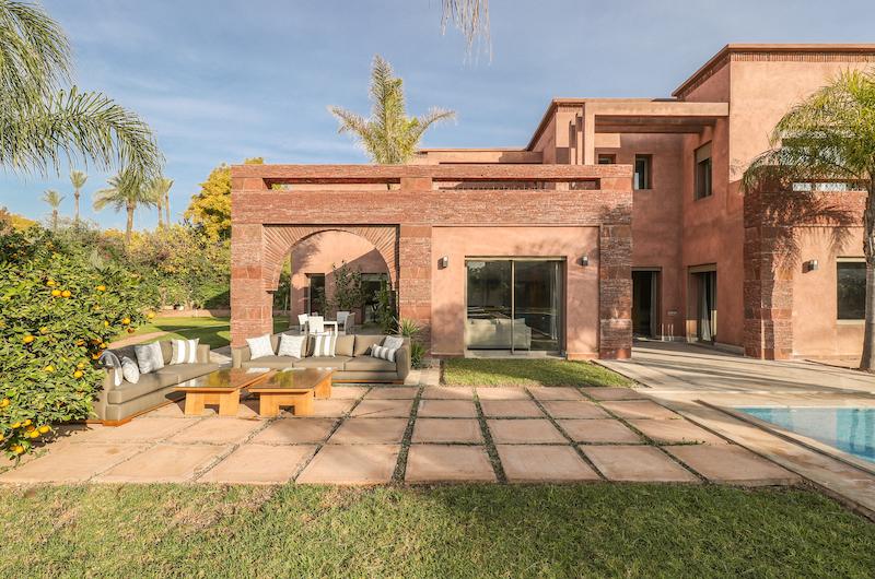 Villa Chamly 4 Outdoor Seating | Marrakesh, Morocco