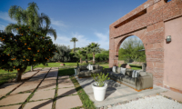 Villa Chamly 6 Outdoor Seating Area | Marrakesh, Morocco