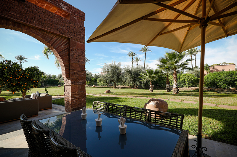 Villa Chamly 6 Outdoor Dining Area | Marrakesh, Morocco