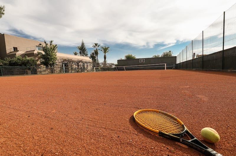 Villa Fima Tennis Court | Marrakesh, Morocco