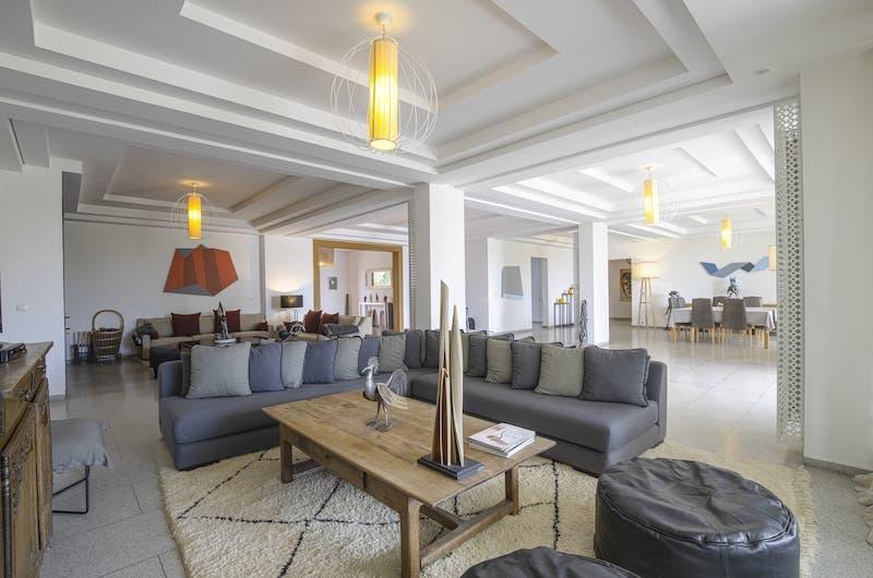 Villa Fima Living Room | Marrakesh, Morocco
