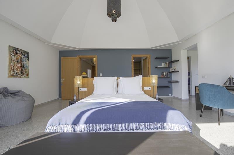 Villa Fima Bedroom with Study Table | Marrakesh, Morocco