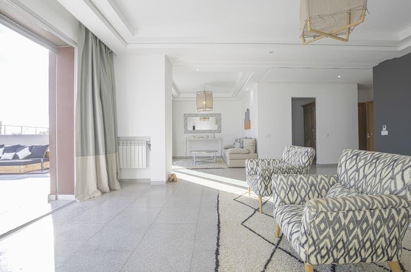 Villa Fima Indoor Seating | Marrakesh, Morocco
