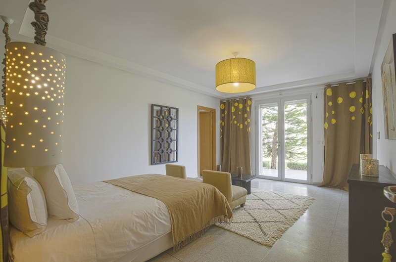 Villa Fima Bedroom Side Area | Marrakesh, Morocco