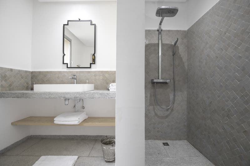 Villa Fima Shower | Marrakesh, Morocco