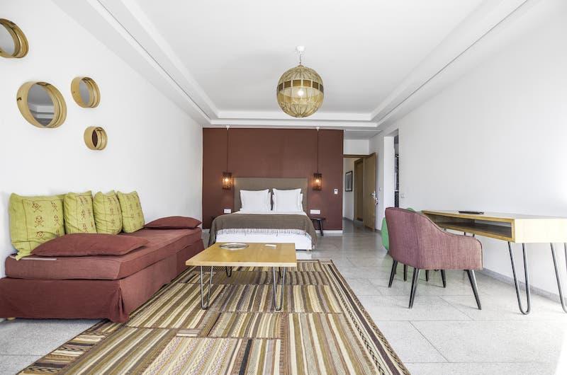 Villa Fima Bedroom Area | Marrakesh, Morocco