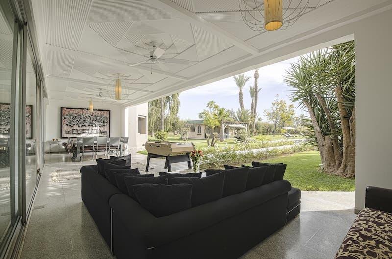 Villa Fima Outdoor Seating Area | Marrakesh, Morocco