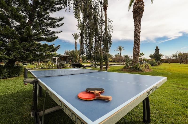 Villa Fima Ping Pong Table | Marrakesh, Morocco