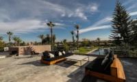 Villa Fima Outdoor Seating | Marrakesh, Morocco