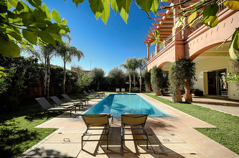 Villa Milado Pool | Marrakesh, Morocco