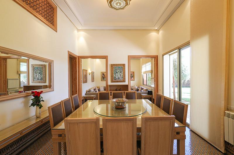 Villa Milado Dining Table | Marrakesh, Morocco