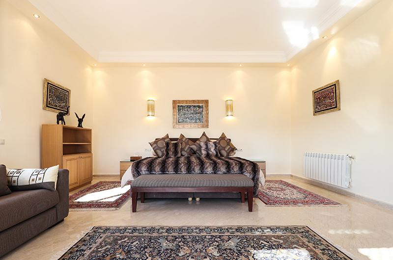 Villa Milado Spacious Bedroom | Marrakesh, Morocco