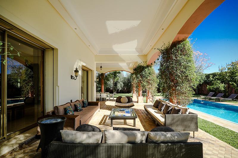 Villa Milado Outdoor Seating | Marrakesh, Morocco