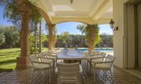 Villa Milado Dining Area | Marrakesh, Morocco