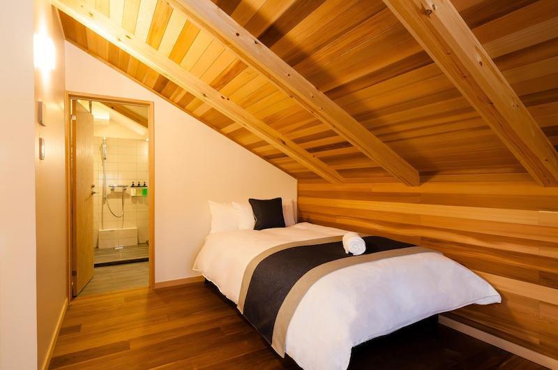 Asagiri Chalet Bedroom Area | Hakuba, Nagano