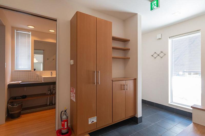 Snow Fox Bathroom Area | Hirafu, Niseko