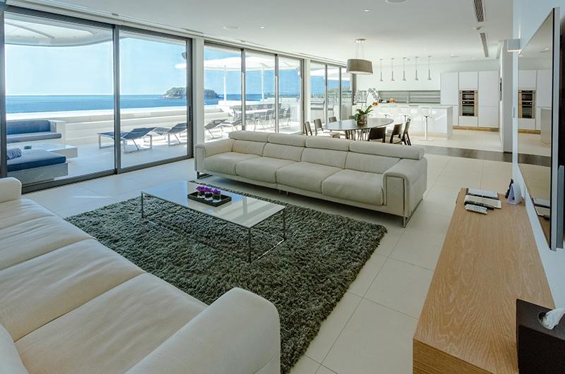 Kata Rocks Open Plan Living Area with Sea View | Kata, Phuket