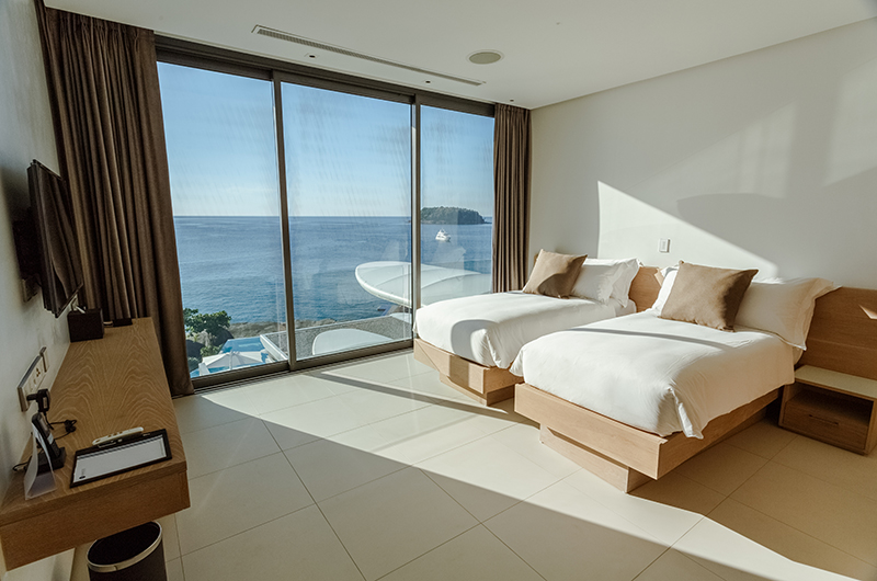 Kata Rocks Twin Bedroom with Sea View | Kata, Phuket