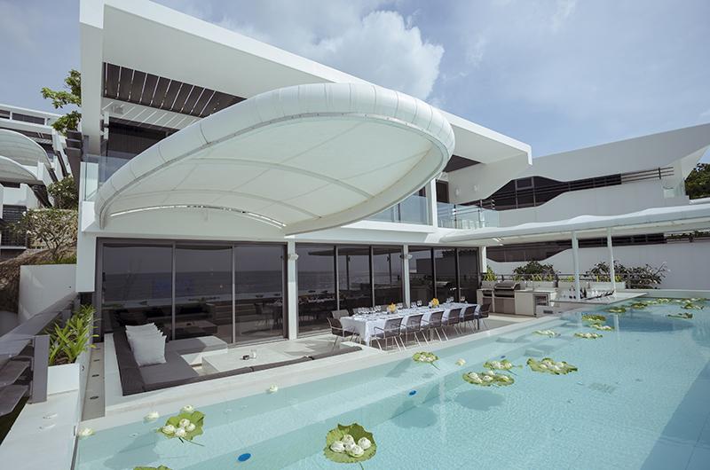 Kata Rocks Swimming Pool with Outdoor Dining Area | Kata, Phuket