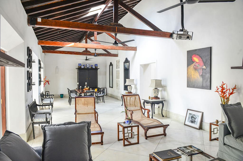 32 Middle Street Living Room | Galle, Sri Lanka