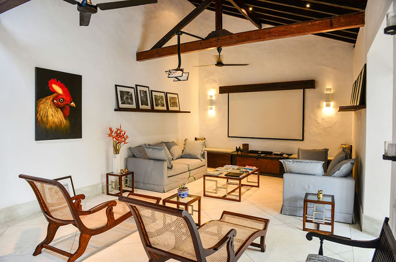 32 Middle Street Living Area | Galle, Sri Lanka