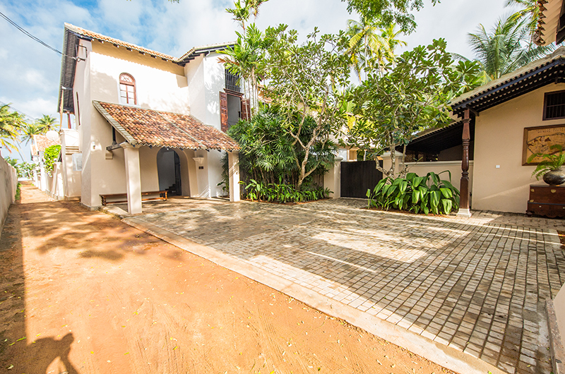 The Muse Entrance Area | Bentota, Sri Lanka