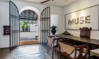 The Muse Entrance | Bentota, Sri Lanka