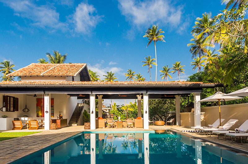 The Muse Pool Area | Bentota, Sri Lanka