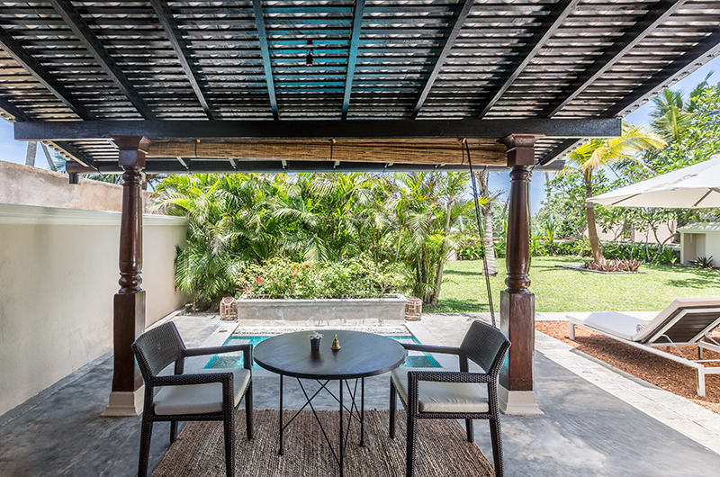 The Muse Bedroom Eight Outdoor Seating | Bentota, Sri Lanka