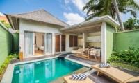 Adiwana Arkara Villas Pool Side with Sun Loungers   Ubud, Bali