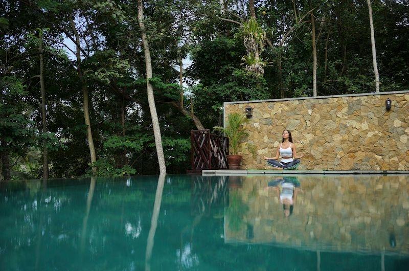 Adiwana Arkara Villas Infinity Pool with Forest View   Ubud, Bali