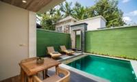 Adiwana Arkara Villas Outdoor Seating with Pool View   Ubud, Bali