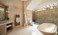 Adiwana Arkara Villas Bathroom with Bathtub   Ubud, Bali